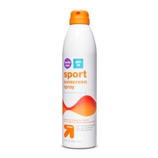 Sport Sunscreen Spray SPF 15 - 9.1oz - Up&Up™