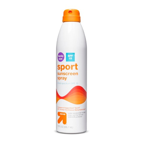 Sport Sunscreen Spray SPF 15 - 9.1oz - Up&Up™ - image 1 of 1