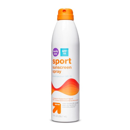 Sport Sunscreen Spray - SPF 15 - 9.1oz - Up&Up