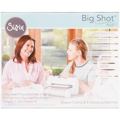 Sizzix Big Shot Plus Machine-White W/Gray