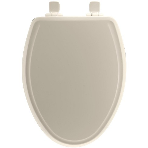 Sensational Bemis 1600E3 Elongated Closed Front Toilet Seat And Lid Pabps2019 Chair Design Images Pabps2019Com