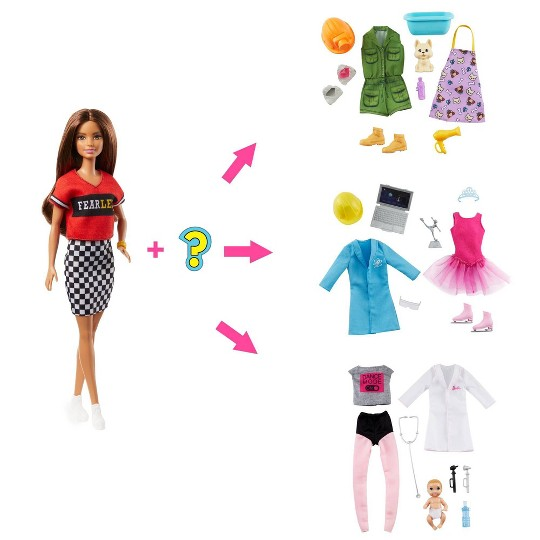 Barbie You Can Be Anything Surprise Brunette Doll image number null