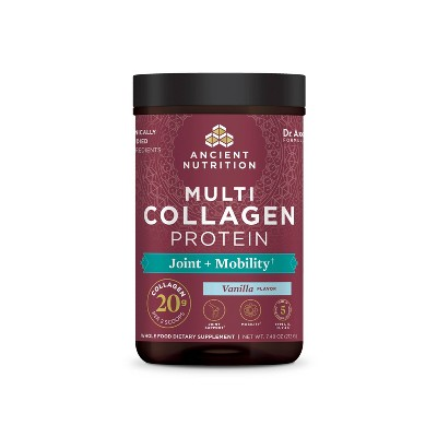 Ancient Nutrition Multi Collagen Protein Joint and Mobility Powder - 8oz