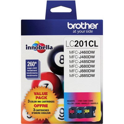Brother LC2013PKS Innobella Ink Cyan/Magenta/Yellow 3/PK