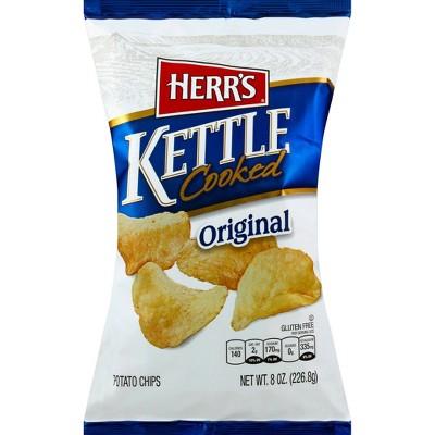 Herr's Original Kettle Cooked Potato Chips - 8.5oz