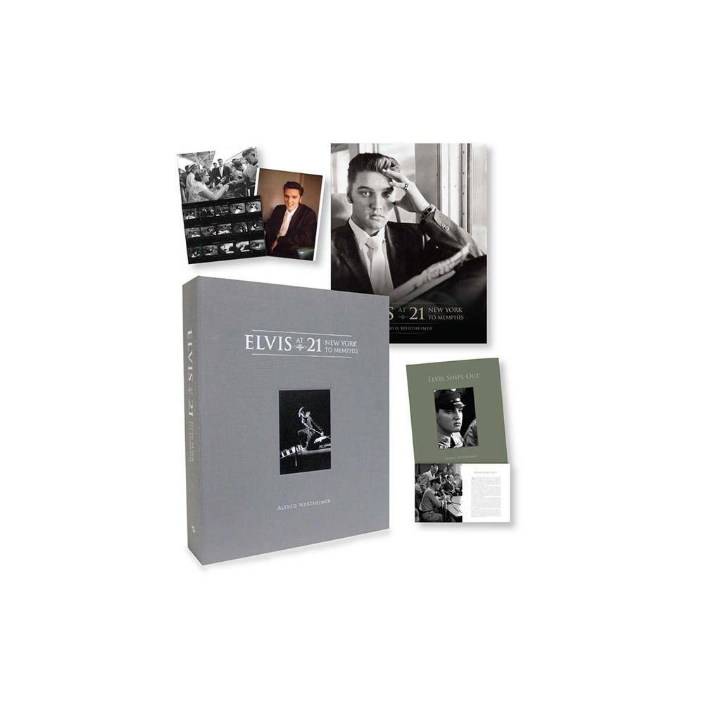 Elvis at 21 [limited Edition] - by Alfred Wertheimer (Hardcover)