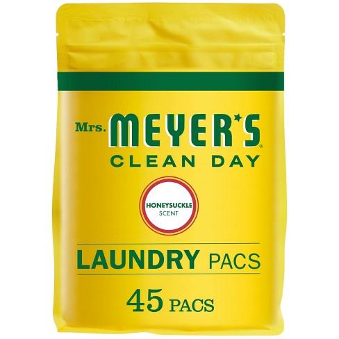 Mrs. Meyer's Monodose Laundry Detergent Honeysuckle - 28oz - image 1 of 3