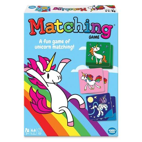 Disney Unicorn Matching Game - image 1 of 4