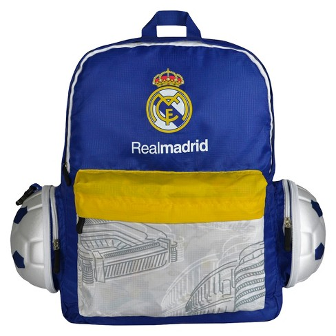 La Liga Real Madrid CF Collapsible Soccer Ball Backpack - image 1 of 5