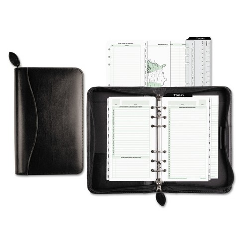 Day-Timer® Recycled Bonded Leather Starter Set, 3 3/4 x 6 3/4, White - image 1 of 3
