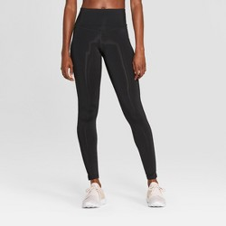 "Women's Training High-Waisted Leggings 28.5"" - C9 Champion® Black"