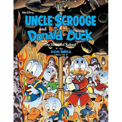 Walt Disney Uncle Scrooge and Donald Duck - by  Don Rosa (Hardcover) - image 1 of 1