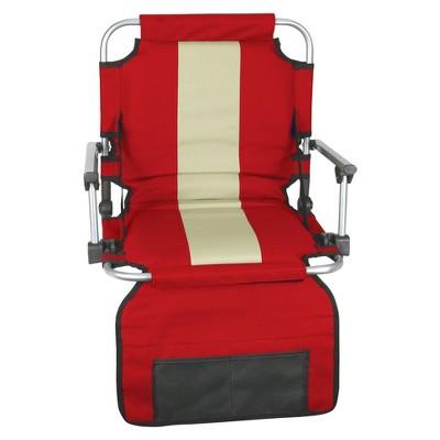 Stansport Folding Stadium Seat - Red