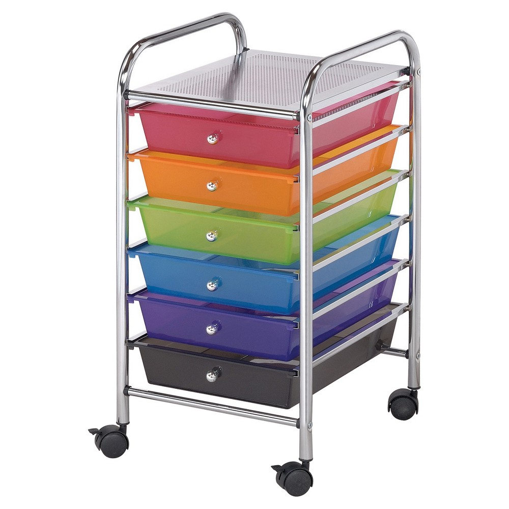 Image of Blue Hills Studio Scrapbooking Tool Organizer - Multi-Colored, Silver