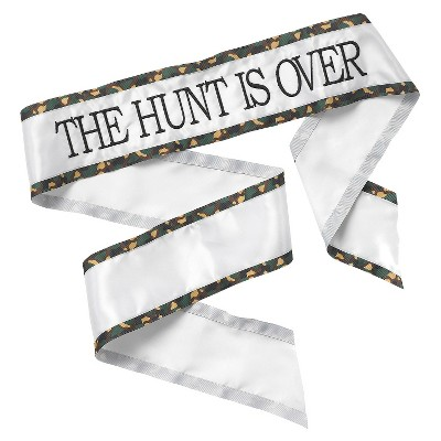 """""""The Hunt Is Over"""" Wedding Party Decoration"""