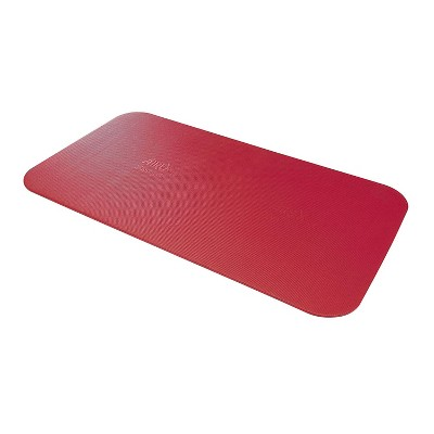 Airex 32-1236R Corona 185 Workout Exercise Fitness Non Slip 0.6 Inch Thick Foam Floor Mat Pad for Yoga or Pilates at Home or Gym, Red