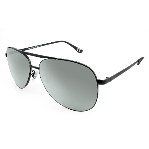 b81f6f1eaf3b0 Men s Aviator Sunglasses - Matte Black   Target