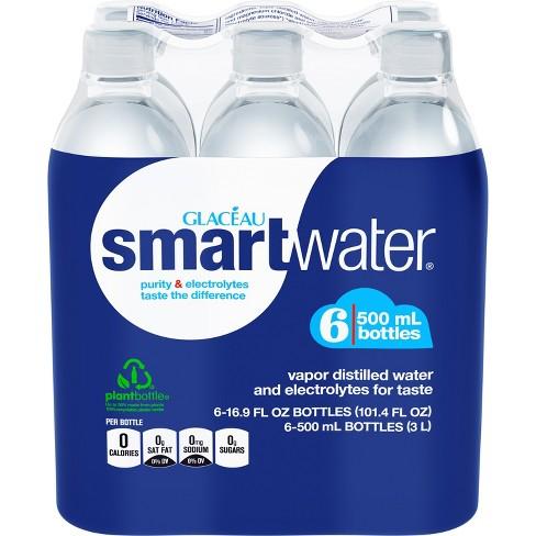 smartwater - 6pk/500 ml Bottles - image 1 of 4