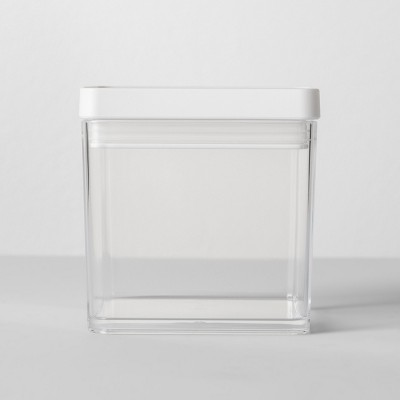 4 W X 4 D X 4 H Plastic Food Storage Container Clear - Made By Design™