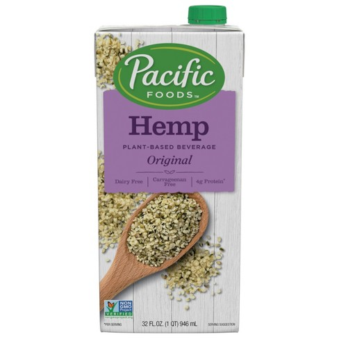 Pacific Foods Hemp Non-Dairy Beverage - 32 fl oz - image 1 of 4