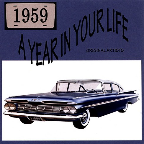 Various - Year in your life 1959 (CD) - image 1 of 1