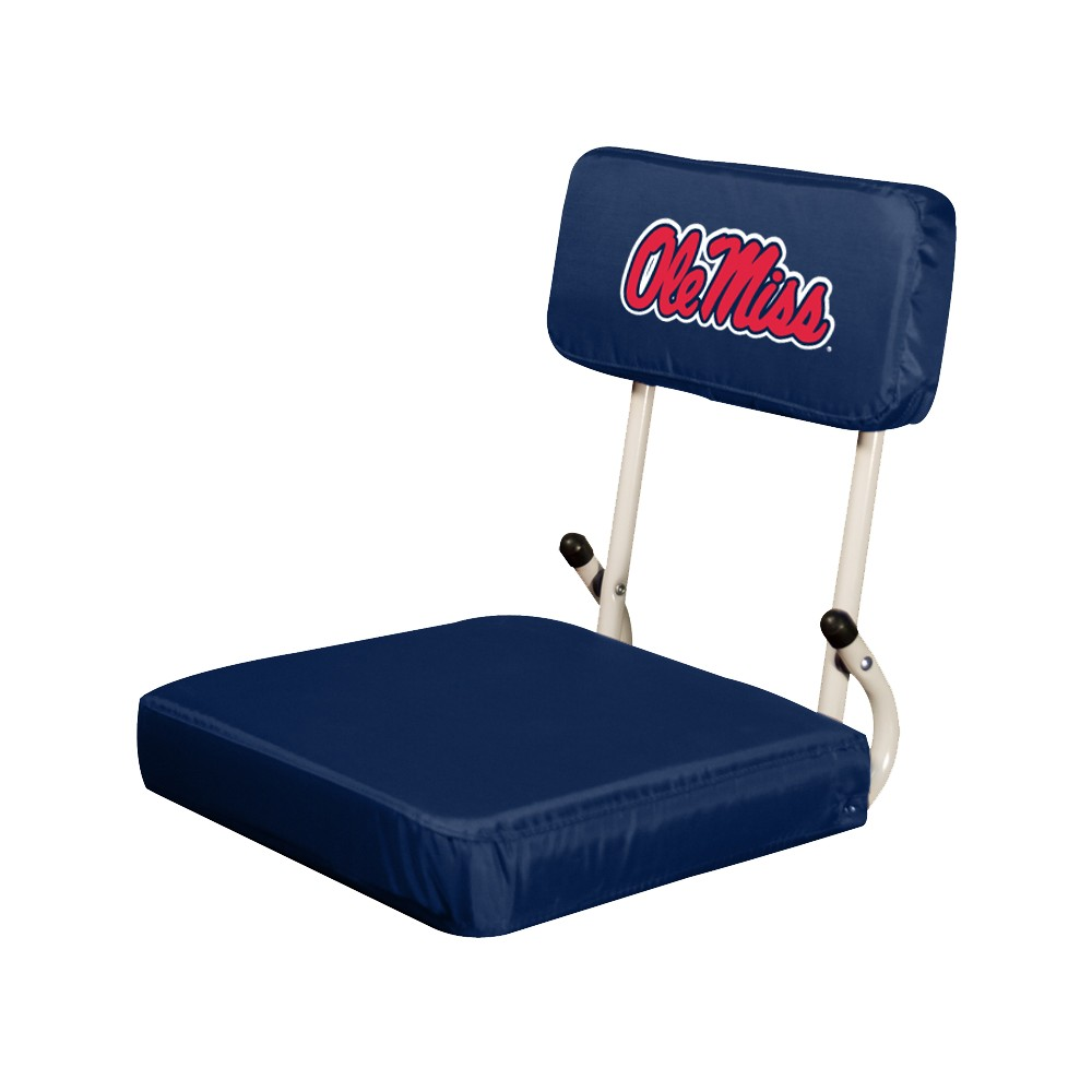 Ole Miss Rebels Hardback Stadium Seat Cushion