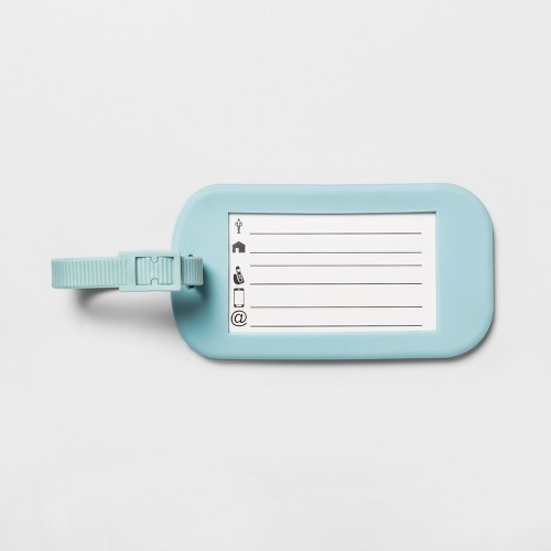 Clear Luggage Tag 1pc Made By Design