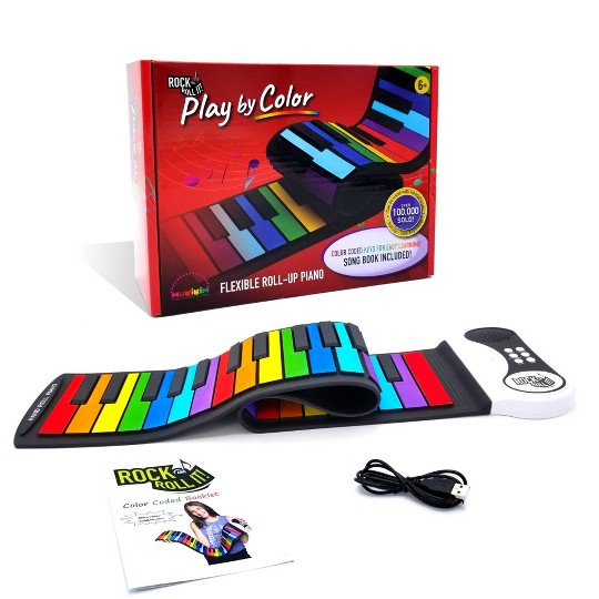 MukikiM Rock and Roll It Play By Color Piano image number null