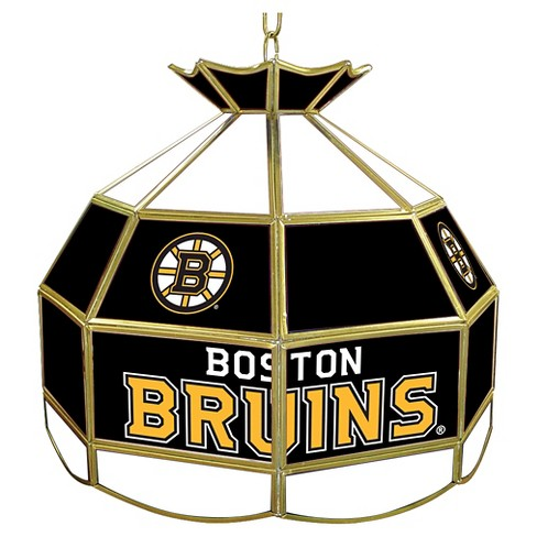 Boston Bruins Stained Glass Tiffany Lamp - 16 inch - image 1 of 1