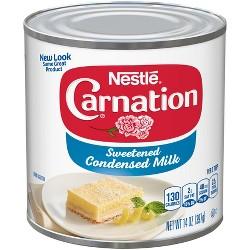 Nestle Carnation Sweetened Condensed Milk - 14oz