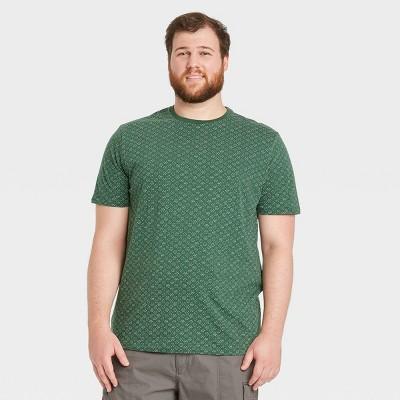 Men's Standard Fit Short Sleeve Crewneck T-Shirt - Goodfellow & Co™