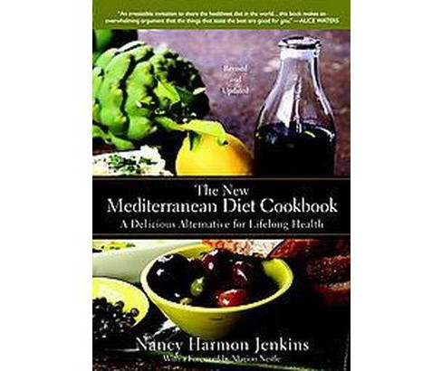 New Mediterranean Diet Cookbook : A Delicious Alternative for Lifelong Health (Hardcover) (Nancy Harmon - image 1 of 1