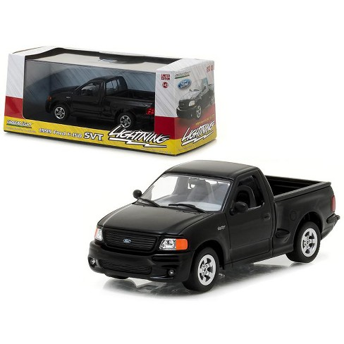 1999 Ford F 150 SVT Lightning Pickup Truck Black 1 43 Diecast Model Car By Greenlight Target