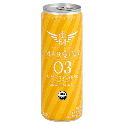 Marquis Mango Ginger Energy Drink - 12 fl oz Can - image 1 of 3