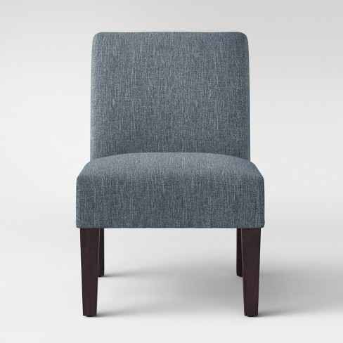 Quincy Basic Slipper Chair Blue - Threshold™ - image 1 of 4