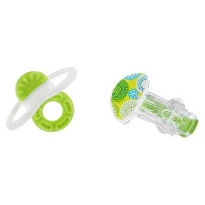 MAM Bite and Relax Phase 1 Teether with Clip, 2+ Months, 1-Count