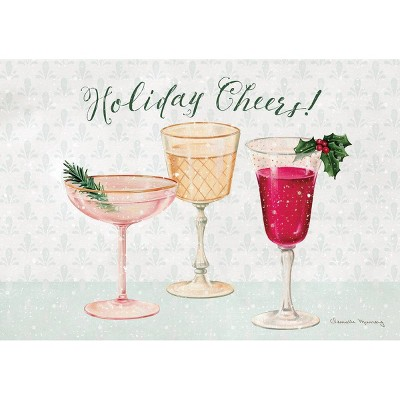 12ct Cheers Boxed Christmas Cards