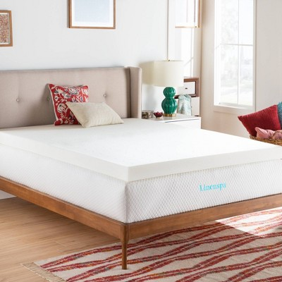 "Essentials 4"" ActiveRelief Memory Foam Mattress Topper - Linenspa"