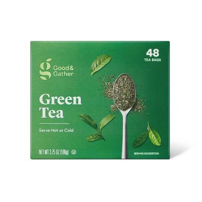 Green Tea Bags - 3.2oz/48ct - Good & Gather™