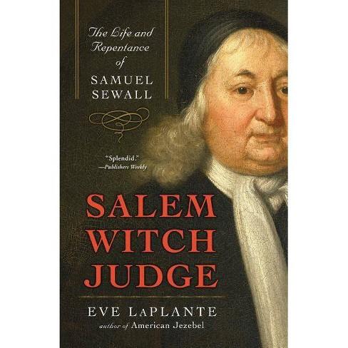 Salem Witch Judge - by  Eve Laplante (Paperback) - image 1 of 1