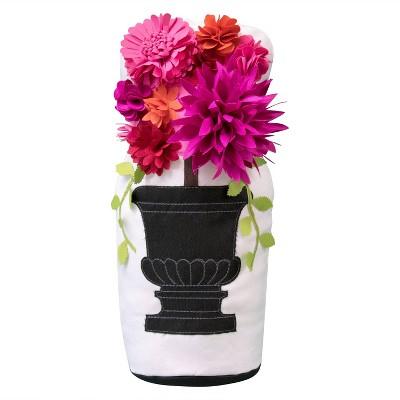 """7"""" x 11"""" Floral Bouquet Door Stopper - Edie@Home"""