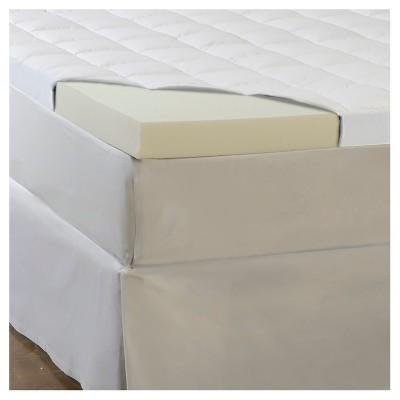 ComforPedic Loft from Beautyrest 4.5  Memory Foam/Fiber Topper - White (Full)