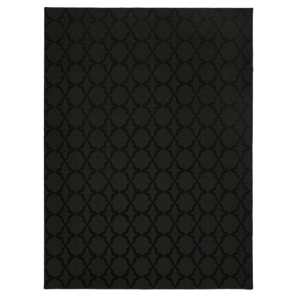 Garland Sparta Area Rug - Black (5'X7')
