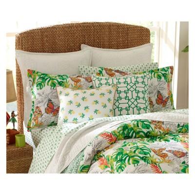 Green Butterfly Garden Comforter Set   Nine Palms : Target