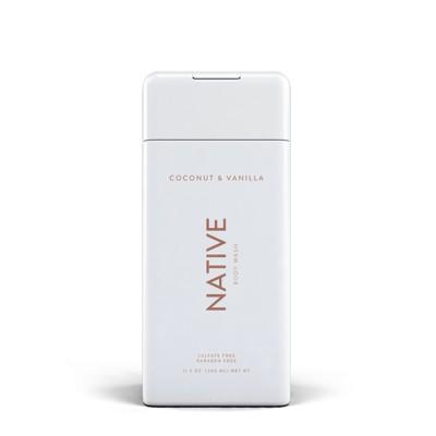 Native Coconut & Vanilla Body Wash - 11.5oz