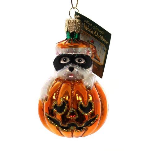 Old World Christmas Westie Pumpkin Halloween Dog Mask - image 1 of 2