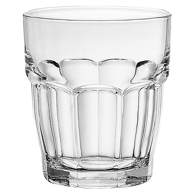 Bormioli Rocco Rock Bar Glass Tumbler Set of 6 - 9 oz