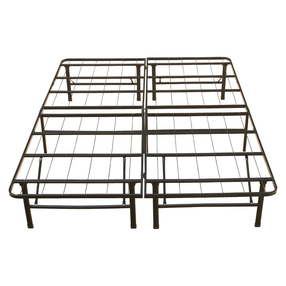 """Image of """"Eco-Lux Metal Platform Base Bed Frame - 14"""""""""""""""