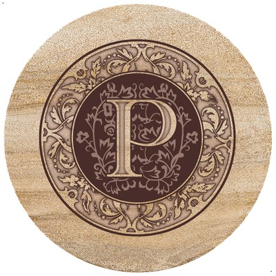 Thirstystone Monogram P Trivet