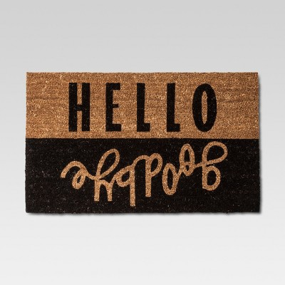 "Hello Goodbye Doormat 18""x30"" - Room Essentials™"